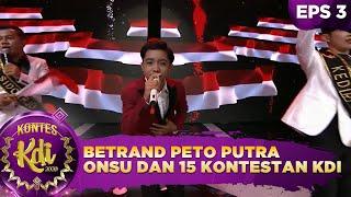 Betrand Peto Putra Onsu dan 15 Kontestan KDI [BENDERA - GARUDA DI DADAKU] - Kontes KDI 2020 (17/8)