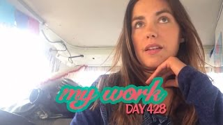 Living in a Van (Day 428) - Working On The Road