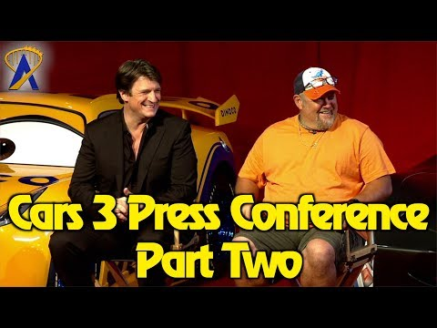 Cars 3 Press Conference with Larry the Cable Guy, Nathan Fillion and more