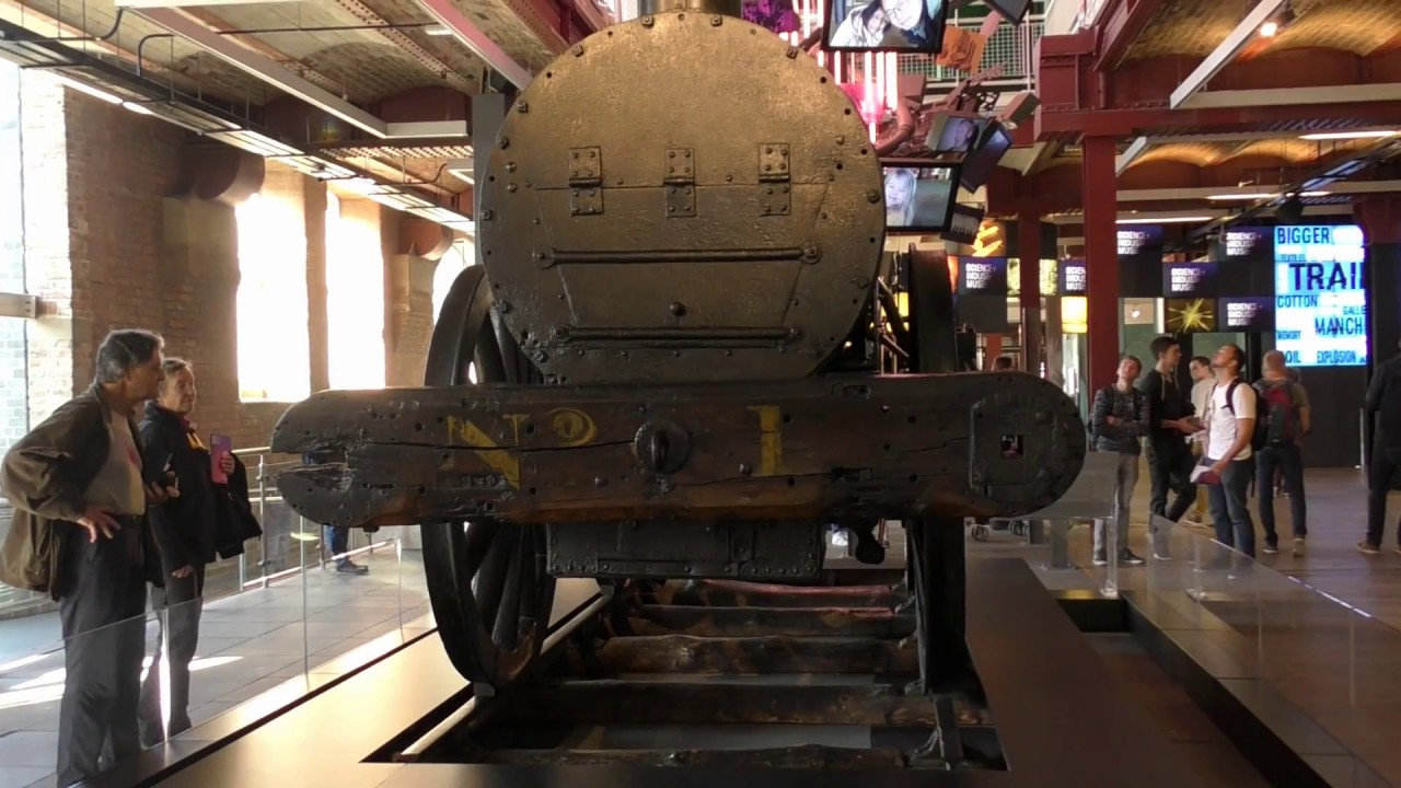 Stephenson's Rocket back at Liverpool Road Station after 180 years 25 /09/2018