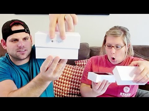 COUPLES IPHONE 6 UNBOXING!