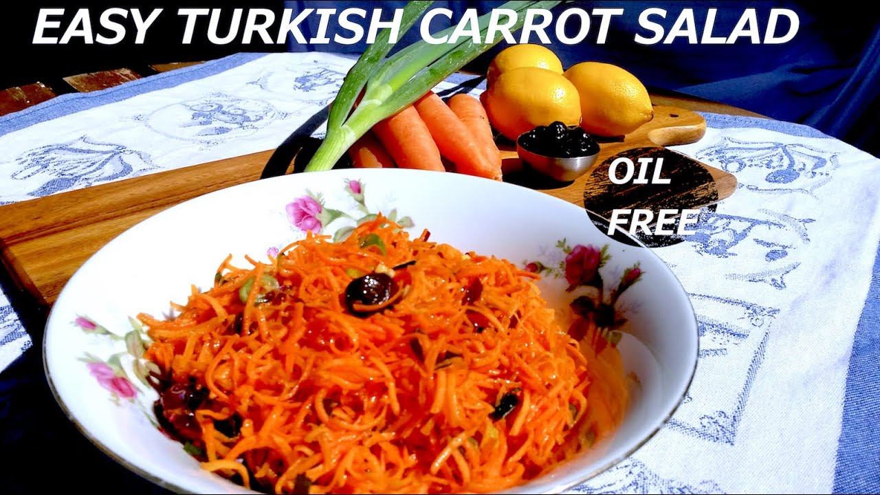 salad carrot Low fat