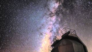 1020710鹿林天文台 銀河縮時
