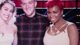 Ali Caldwell - THE VOICE Top 8 Elimination INTERVIEW