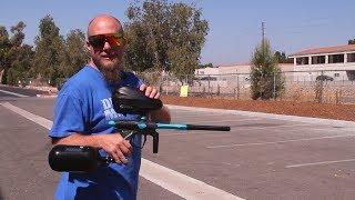 D3fy Sports D3S Paintball Gun - Shooting