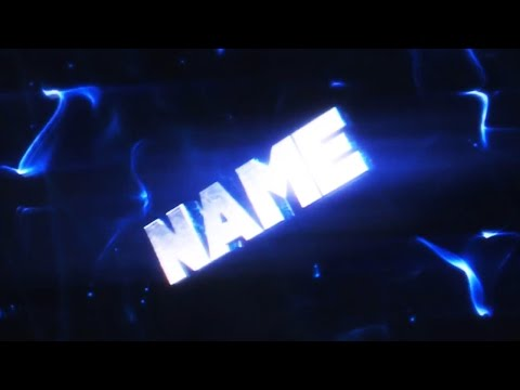 FREE 60FPS BLUE 3D Intro Template #146 Cinema 4D & After Effects