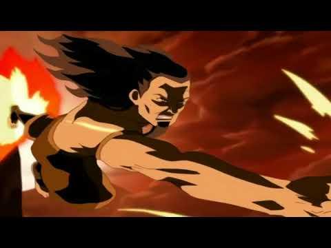 Aang vs Ozai   Beggining of Fight