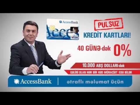 AccessBank - Pulsuz kredit kartlari
