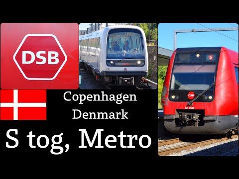 S Tog & Metro In Copenhagen,  København