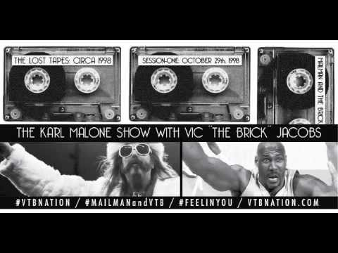 KARL MALONE W/ VIC THE BRICK: SESSION ONE: 10-26-98
