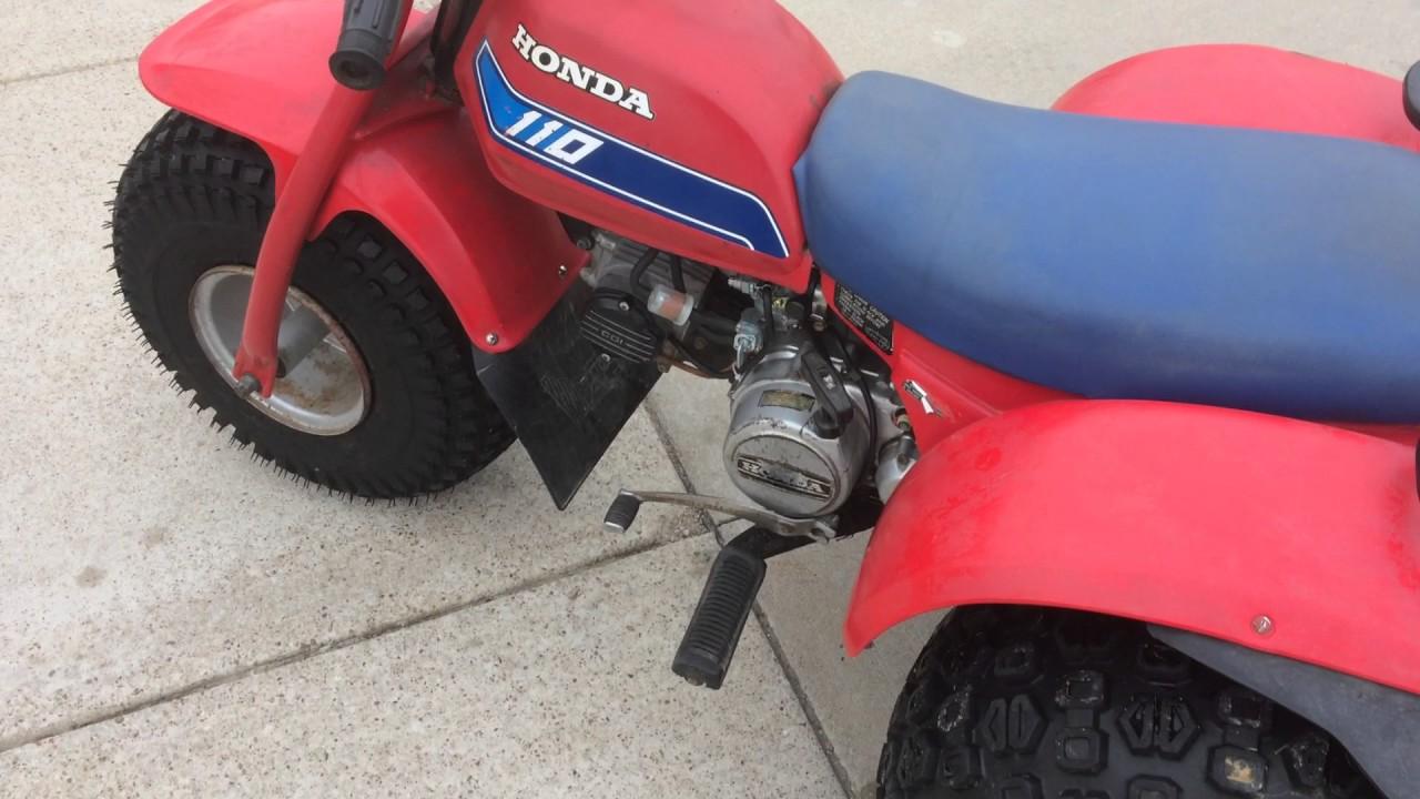 Marvelous 1982 Honda ATC 110 3 Wheeler   SOLD