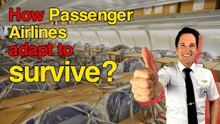 How PASSENGER planes are CONVERTED to carry CARGO! Explained by CAPTAIN JOE