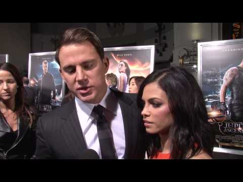 Jupiter Ascending: Channing Tatum Exclusive Premiere Interview