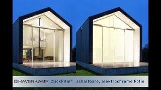 ClickFilm®: Schaltbare Folie zur Nachrüstung für Glas und Fenster | Elektrische Milchglasscheibe
