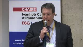 Acfas 2016: Colloque 497 en immobilier - Sylvain Villiard, GP Gouvernance Plus