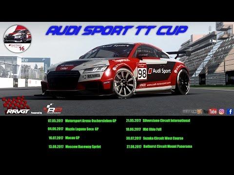 AUDI TT Sport Cup / Testrennen#1 / Brandshatch Indy in [R3E]