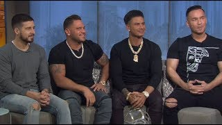 "The Boys of Jersey Shore talk all about ""Jersey Shore Family Vacation"""