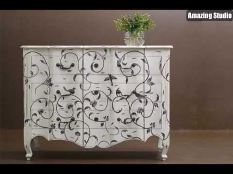 alte m bel streichen youtube. Black Bedroom Furniture Sets. Home Design Ideas