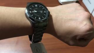 Fossil Q Activist Hybrid Smartwatch Unboxing and Review