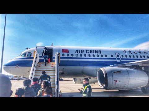 TRIPREPORT | Air China (Economy) | Beijing - Qingdao | Airbus A319