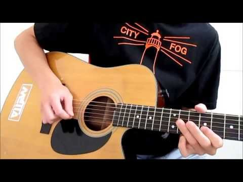 Bulletproof Love - Pierce the Veil (Acoustic guitar cover)