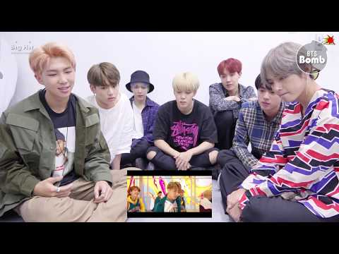 BANGTAN BOMB BTS &39;DNA&39; MV REAL reaction 6:00PM 170918 - BTS 방탄소년단