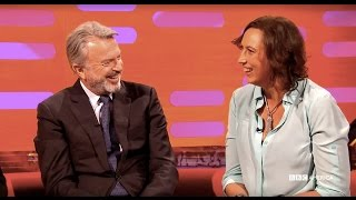 Video Re-creating Jurassic Park with Sam Neill, Ewan McGregor and Miranda Hart - The Graham Norton Show download MP3, 3GP, MP4, WEBM, AVI, FLV Agustus 2018