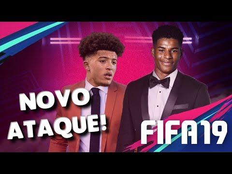 CONTRATEI 2 PROMESSAS PRO ATAQUE !! - Modo carreira - FIFA 19 #24