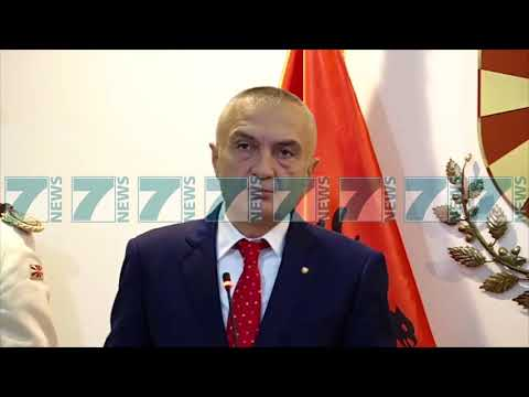 """PRESIDENTI I MAQEDONISE IVANOV """"TIRANA TE NA MBESHTESE NE NATO"""" - News, Lajme - Kanali 11"""