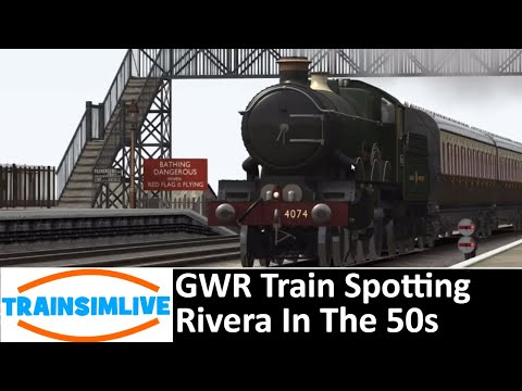 Train Simulator 2019 - GWR Trainspotting - Trainspotting On The Riviera In The 50's |