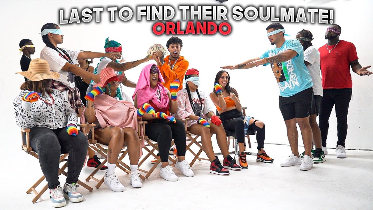 LAST TO FIND THEIR SOULMATE BUT BLINDFOLDED!
