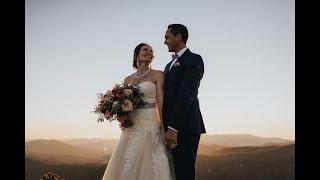 Tanya & Josh Hawksbill Mountain