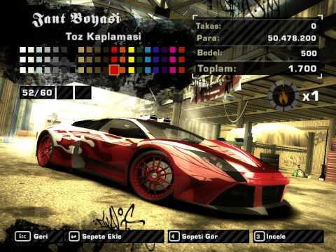 Need for Speed Most Wanted 2005 Lamborghini Murcielago Modifiye