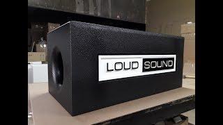 Процесс изготовления сабвуфера #3! LOUD SOUND