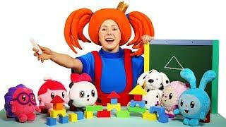 Развивающее видео для детей - Поиграйка с Царевной - Сборник - Играем с Малышариками, Фиксиками