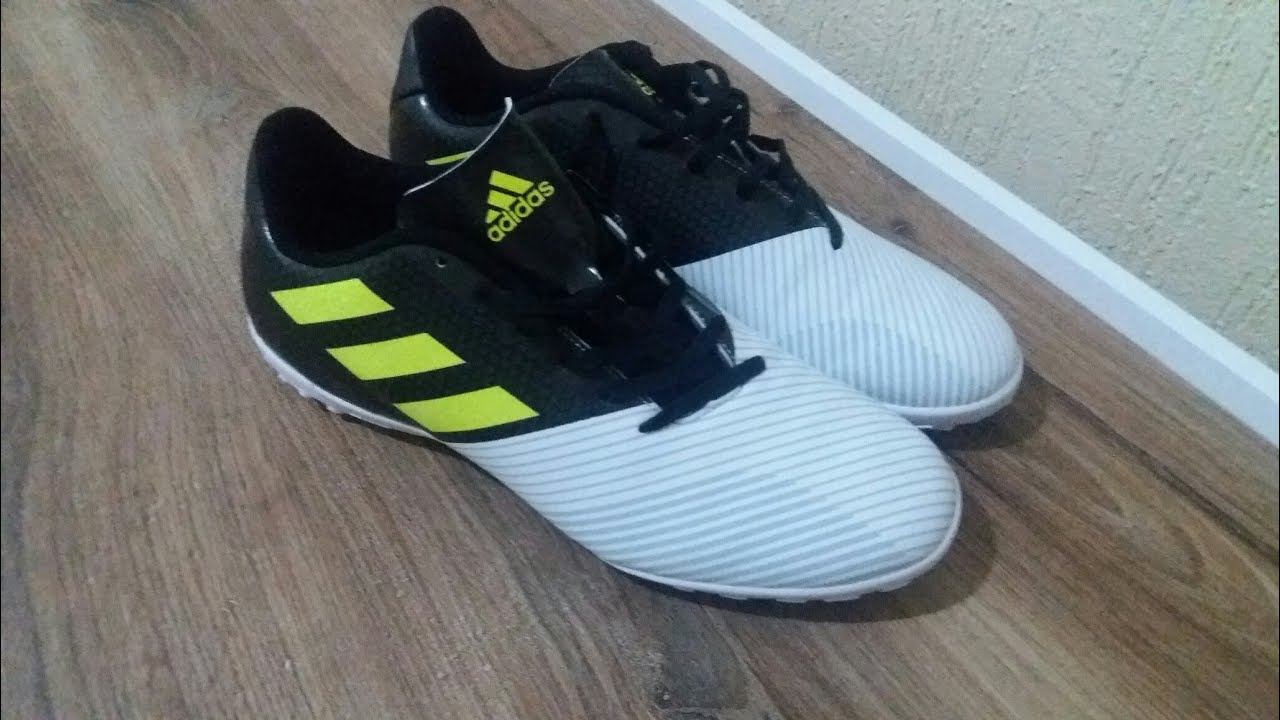 Unboxing chuteira society Adidas artilheira 17 TF - YouTube 8f3cd49d2bfde