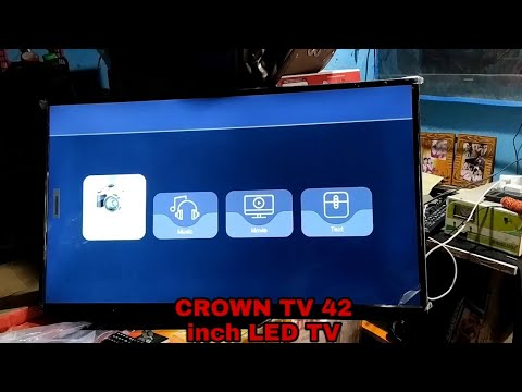 Download CROWN TV 42 inch LED TV Full HD&4K MRS-16000 ! LED TV