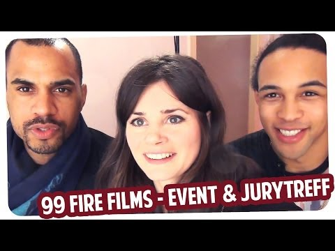 99 Fire Films Award - Jurytreff, Event & Spökes am Red Carpet mit Simon Desue