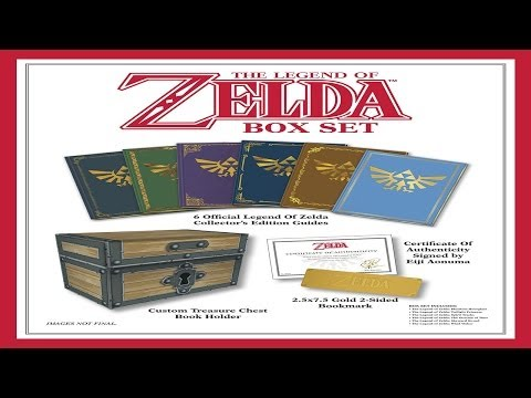 Unboxing - The Legend Of Zelda Box Set: Prima Official Game Guide