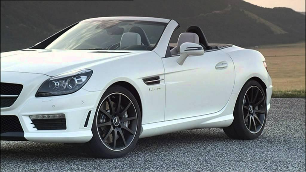 2012 Diamond White Mercedes Slk55 Amg Interior And
