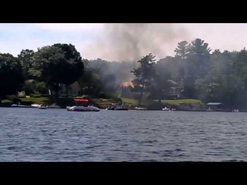 Family Fishing Trip + Cottage Fire / Burns Down in Ottawa