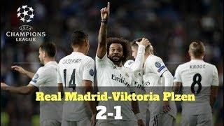 Champions League: Resumen del Real Madrid-Viktoria Plzen