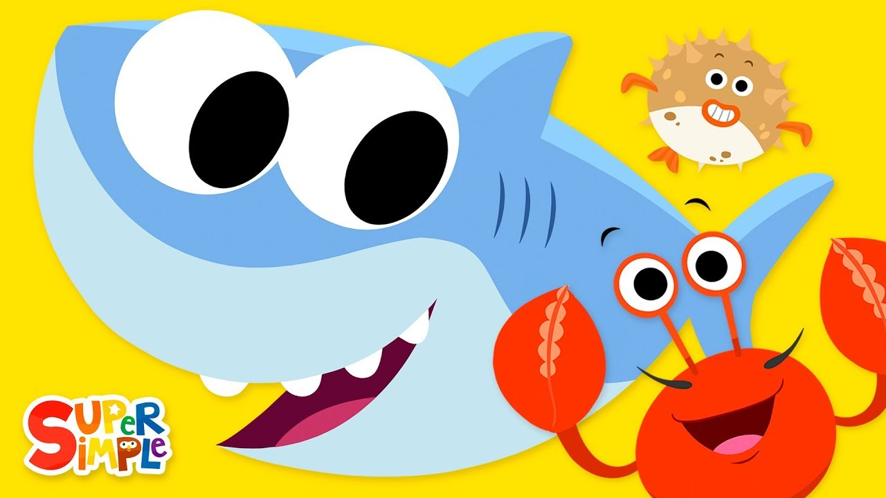 Open Shut Them 3 Featuring Baby Shark Super Simple