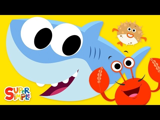 Open Shut Them #3   featuring Baby Shark   Super Simple Songs