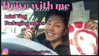 DRIVE WITH ME + Mini day vlog
