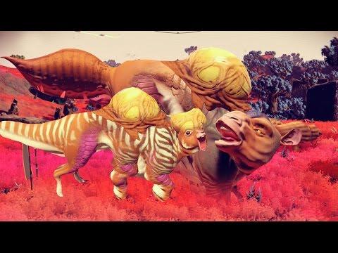WEIRD GRASS, WEIRDER ANIMALS | No Man's Sky Gameplay