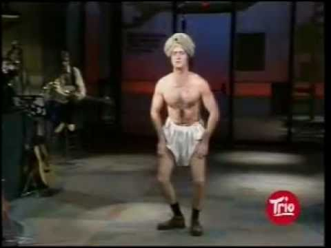 Andy Kaufman on Letterman Part 1