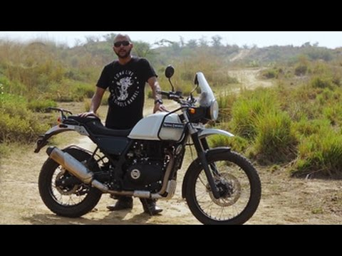 Royal Enfield Himalayan Video Review Youtube