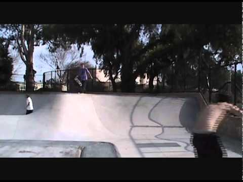 John Boyes - Back Quarter pipe session