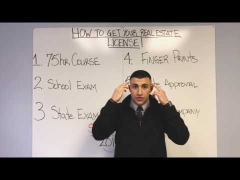 Steps for NJ Real Estate License